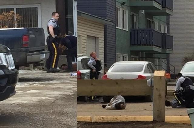 RCMP conduct major arrest blitz in downtown area