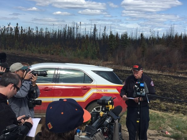 Fire Chief details wildfire and next steps