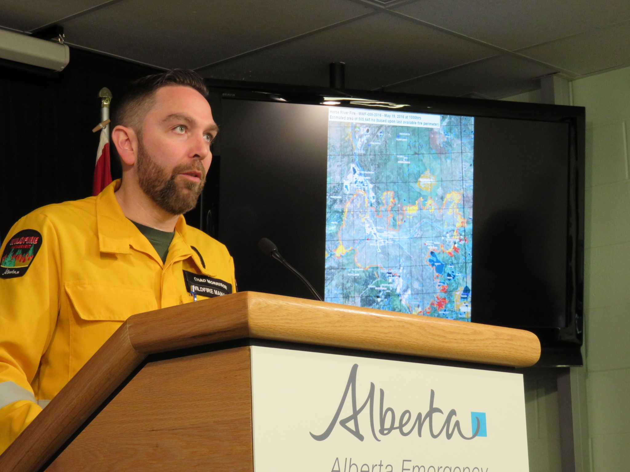 AEMA updates fire situation: no significant growth