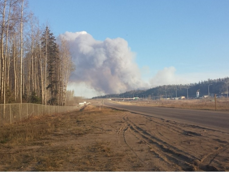 Research Looking Into The Impacts The Wildfire Had On Air Quality