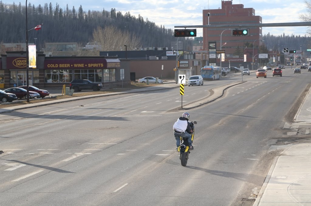 RCMP issue province-wide warrant for suspected motorcycle stunter