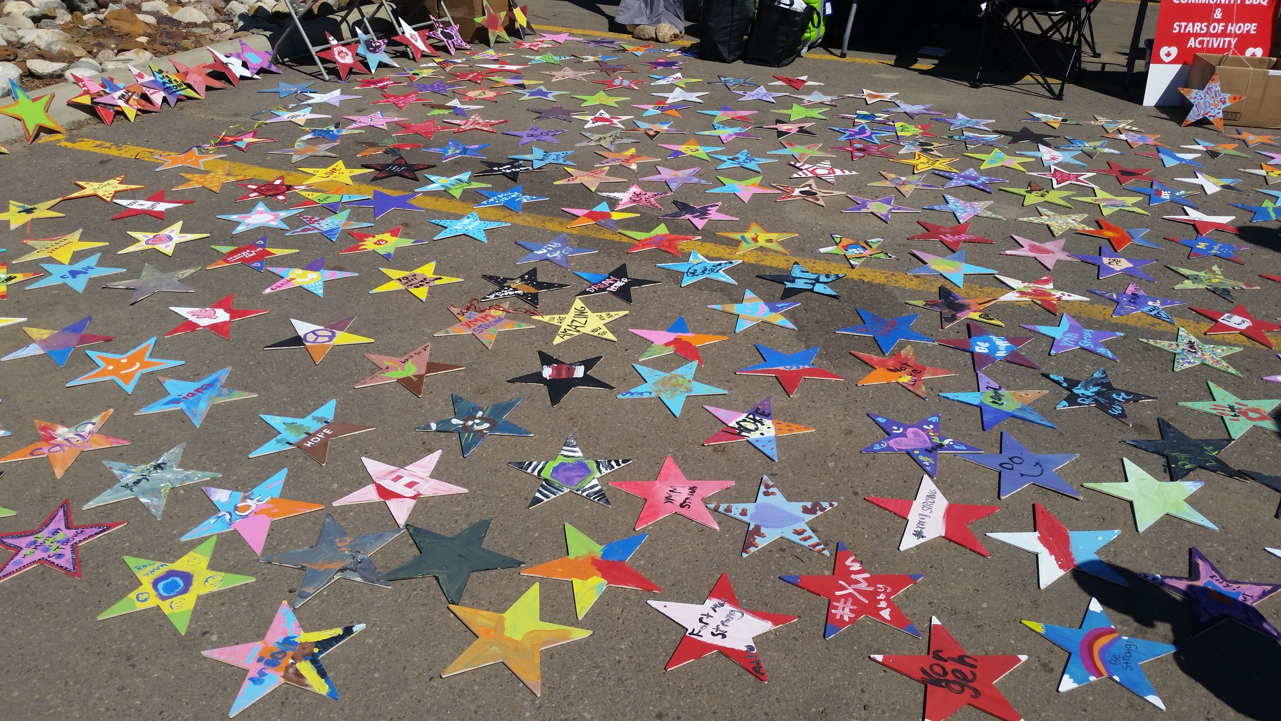 Fort McMurray first Canadian city to have Stars of Hope