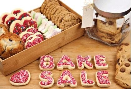 First Responders bake sale