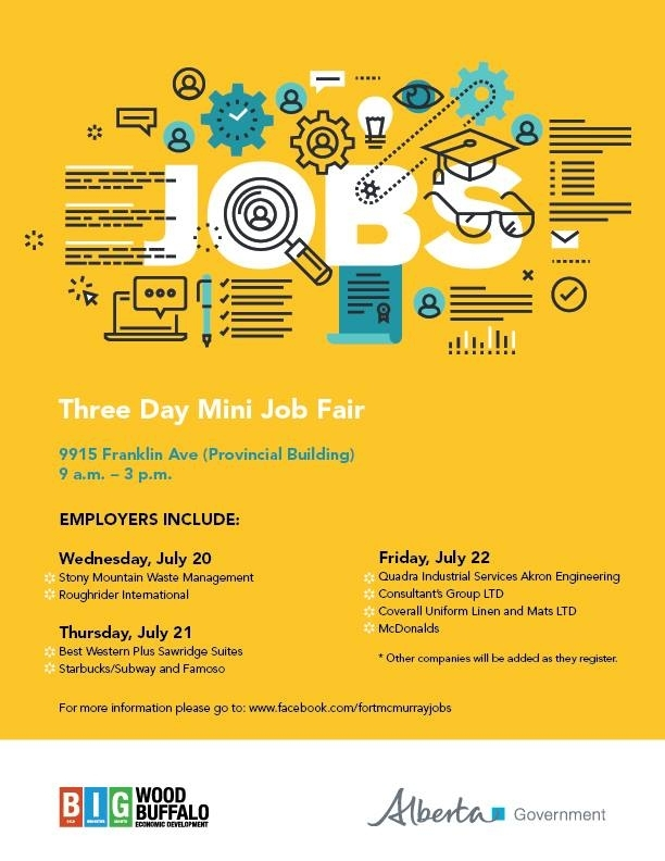 Job fair here for just two more days