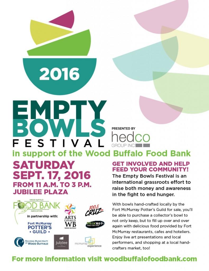 Empty Bowls Festival this Saturday