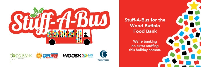RMWB & Transit Services launch 1st annual stuff-a-bus campaign