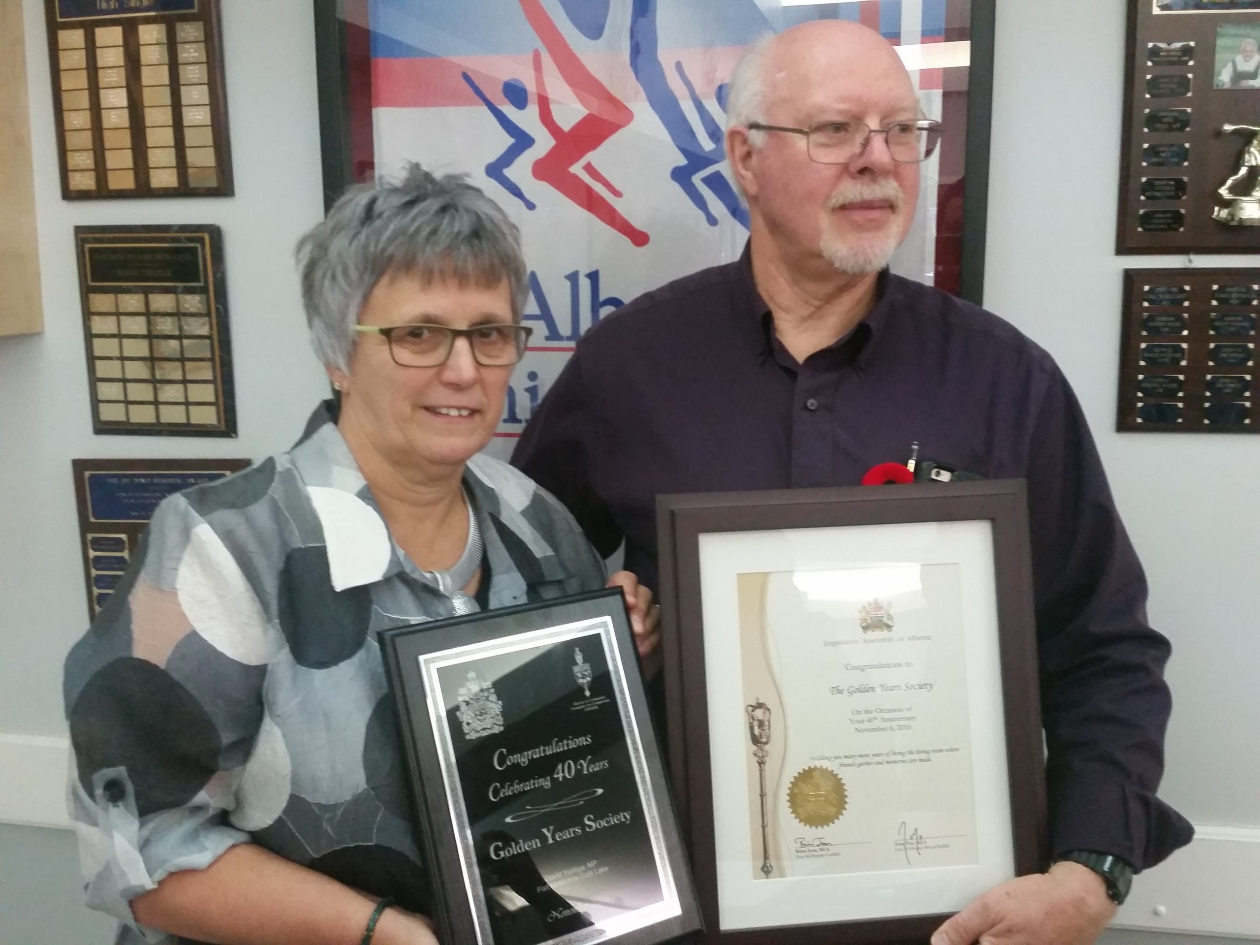 Golden Years Society celebrates 40 years