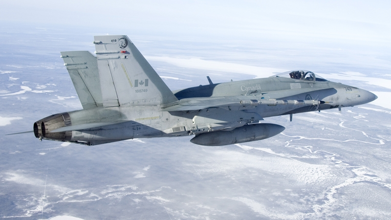 CF-18 Fighter Pilot dies in crash