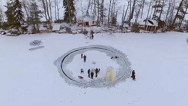 "The ""Lazy Snow-san"" - aka Finnish Magic"