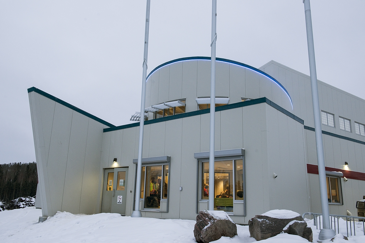 Fort Chipewyan is welcoming the addition of a new Aquatic Center