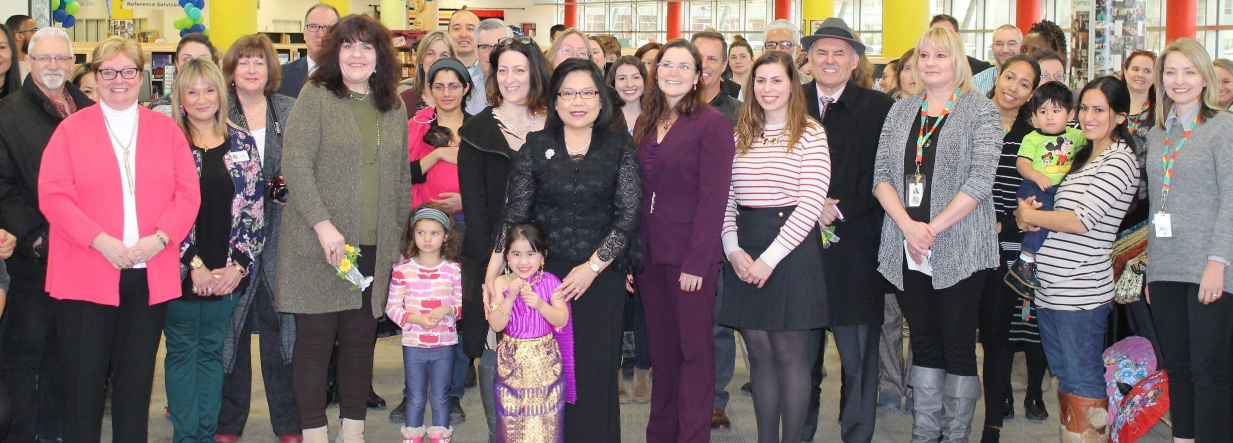 PICS: Royal Thai Consulate Visits Wood Buffalo Regional Library