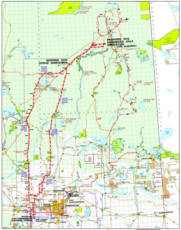 Transmission line project for Fort McMurray to start construction soon