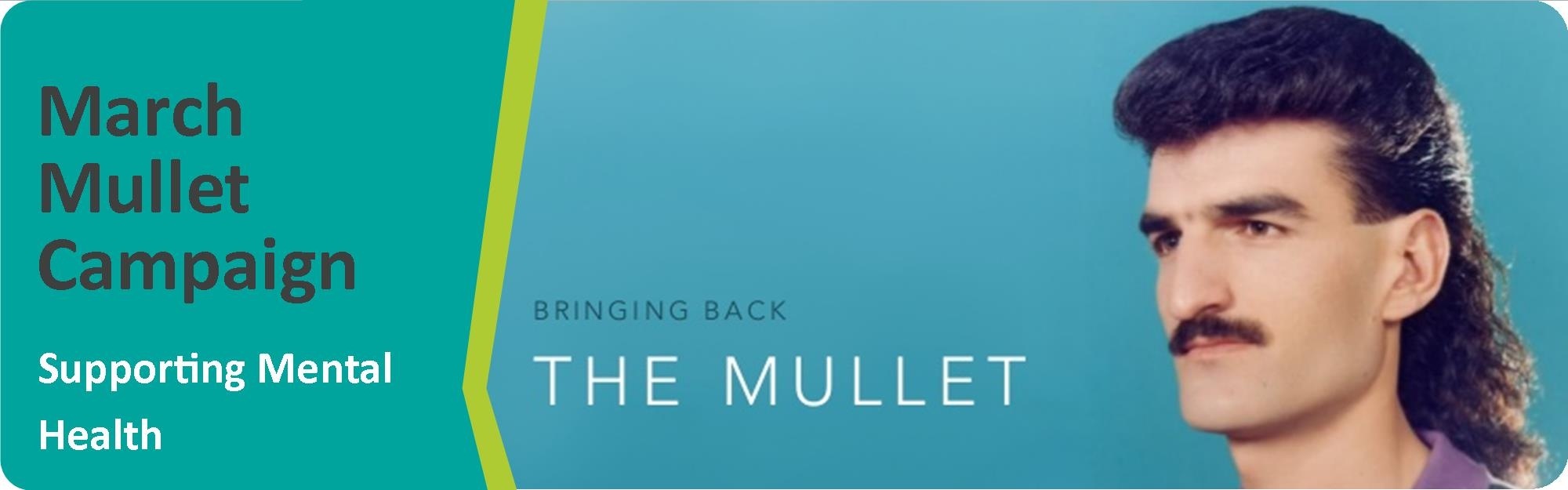 Mullets Are Back Aimed at Ending the Stigma Around Mental Health