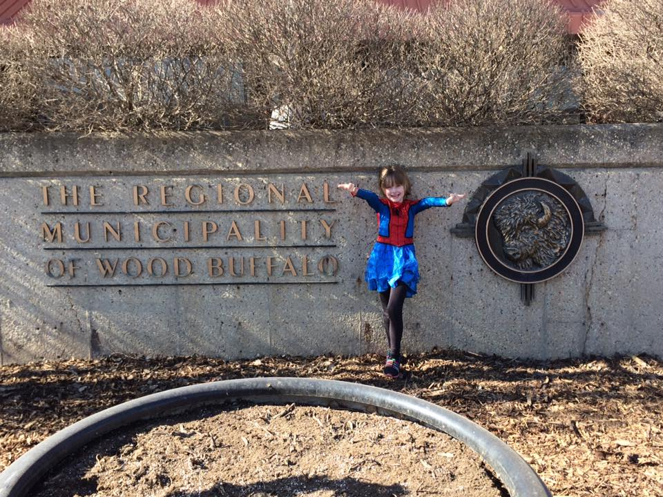 Edmonton's SpiderMable Swings Into Fort McMurray