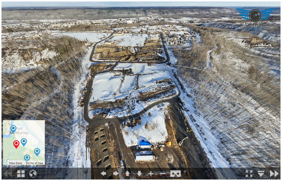 Aerial Views of YMM Rebuild Progress