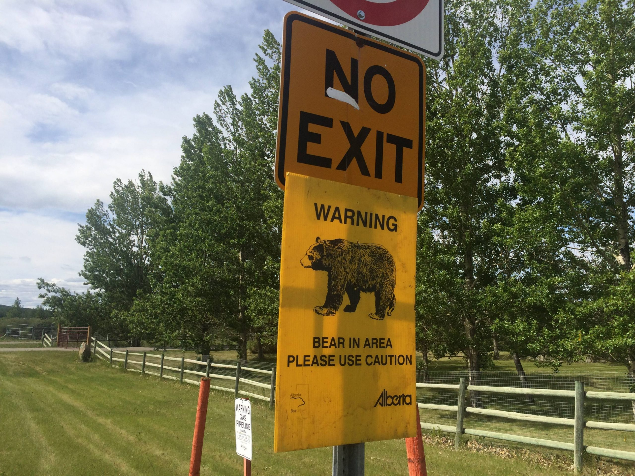 BearSmart Wood Buffalo Holding Wildlife Safety Event