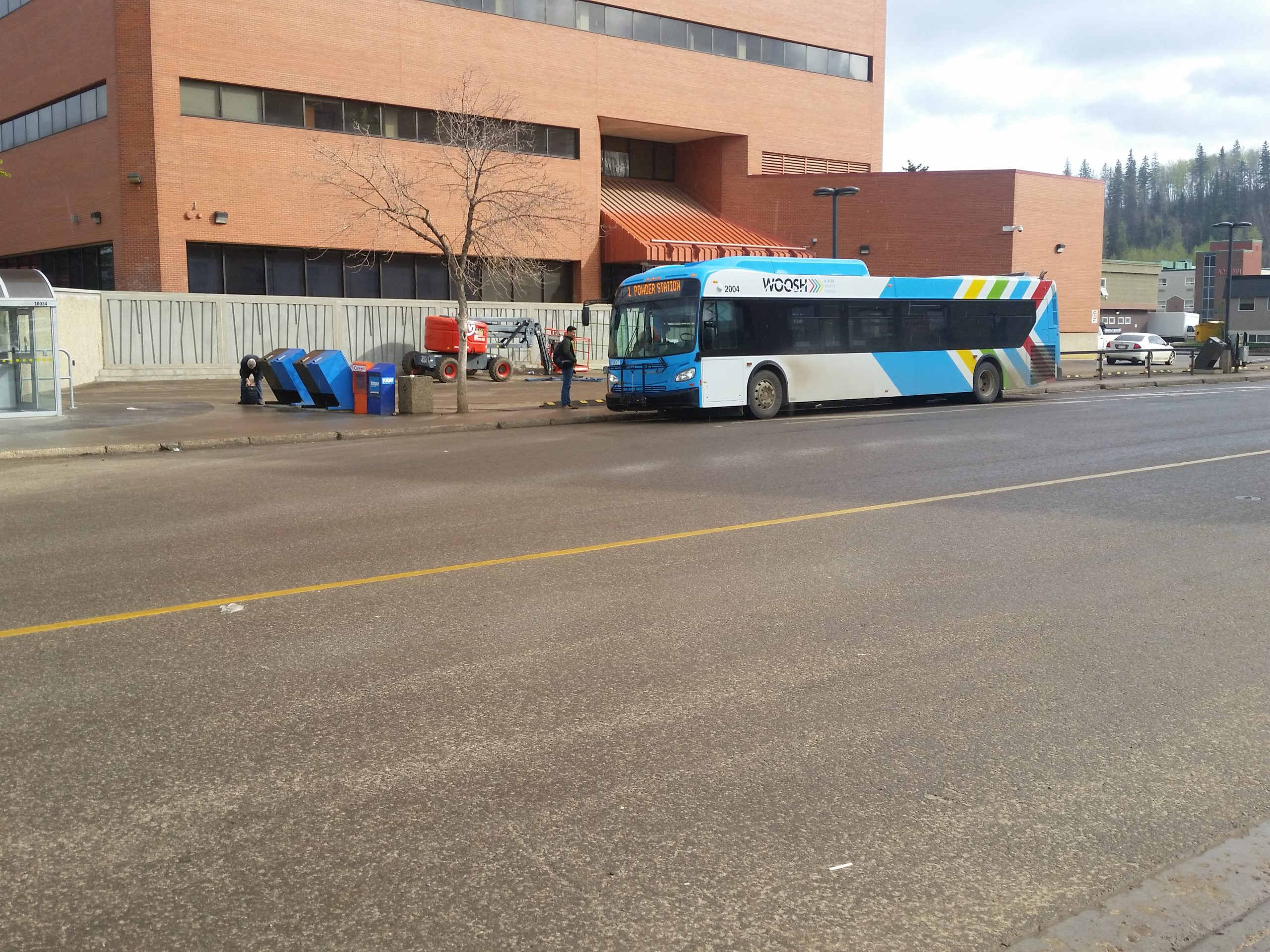 Confederation Way, Thickwood Boulevard Getting New Bus Turnouts