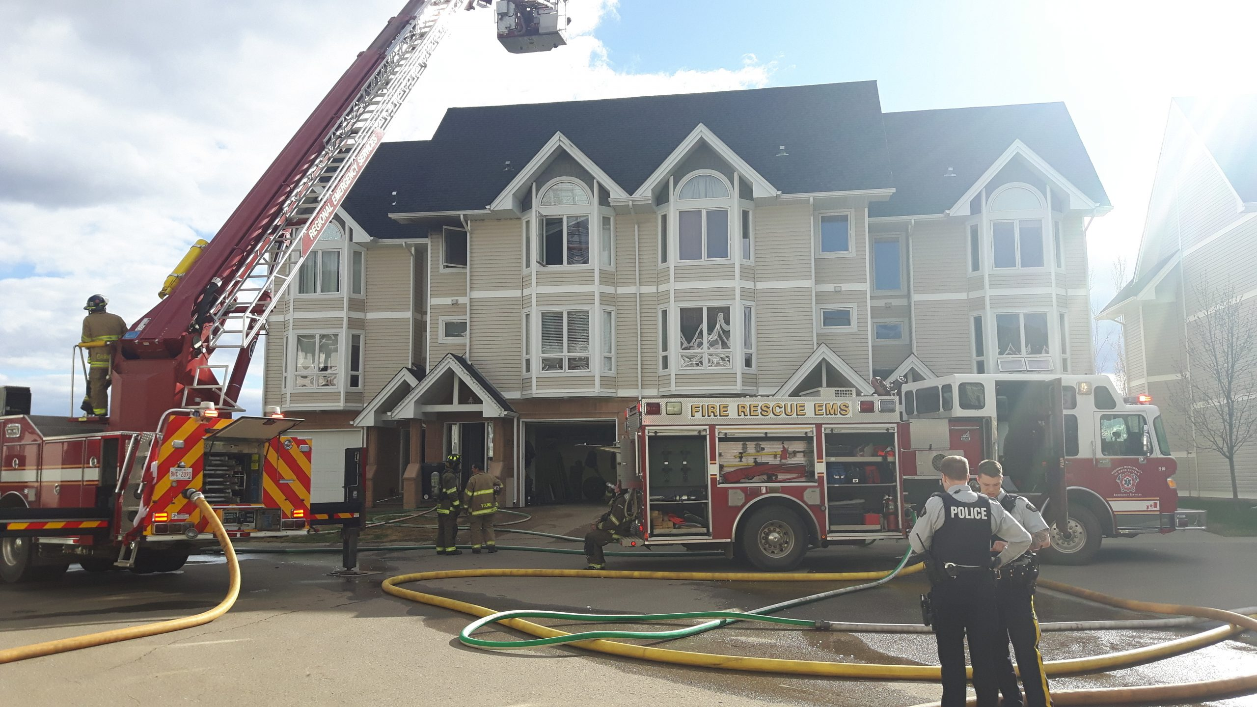 Update: Townhouse Fire In Wood Buffalo Under Investigation