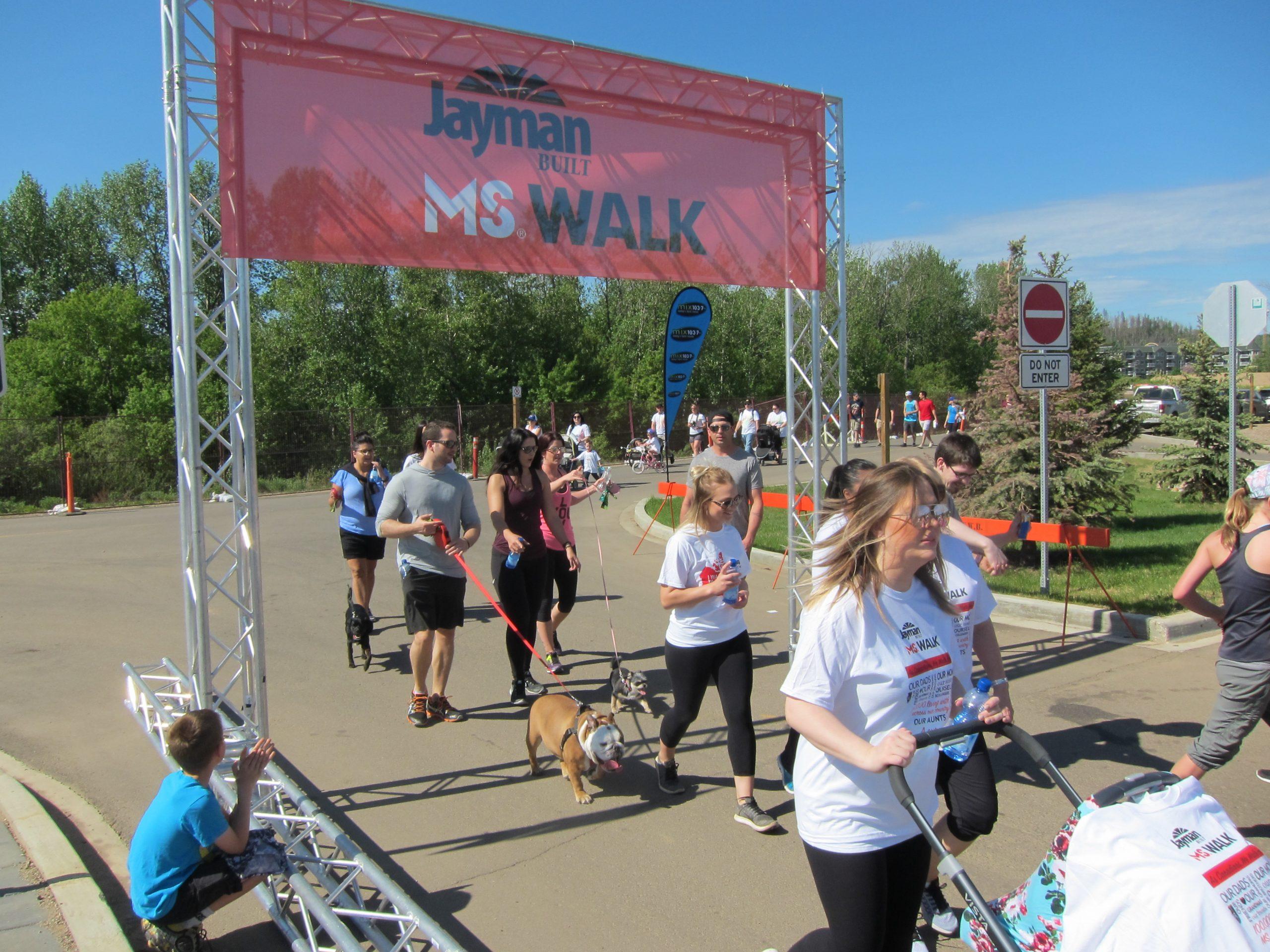Jayman BUILT MS Walk Makes Triumphant Return After One Year Hiatus