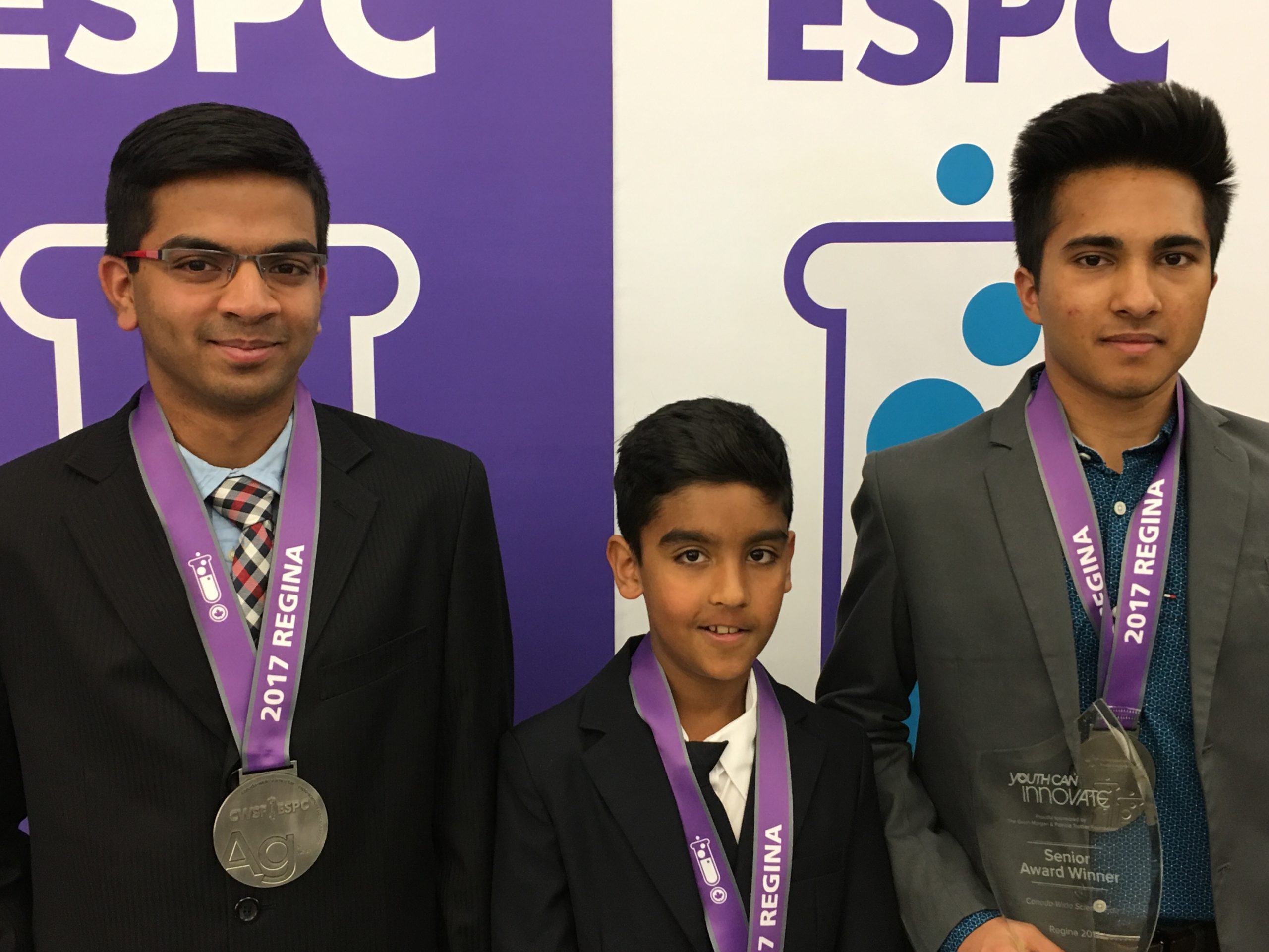 FMPSD Students Place Top Three At Canada Wide Science Fair