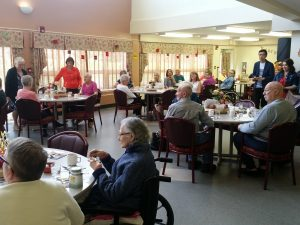 Seniors at Rotary House Lodge // Jaryn Vecchio - Harvard Broadcasting