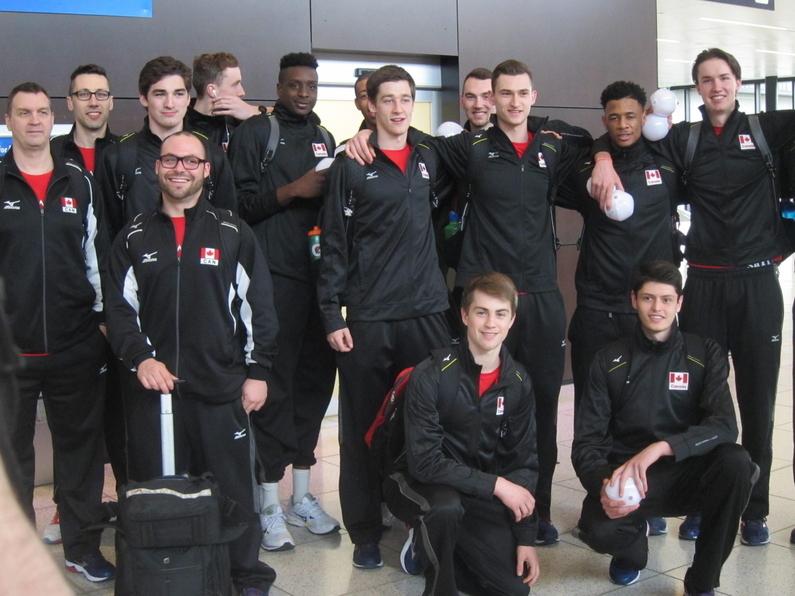 Team Canada Arrives For Under 21 Men's Volleyball Pan American Cup
