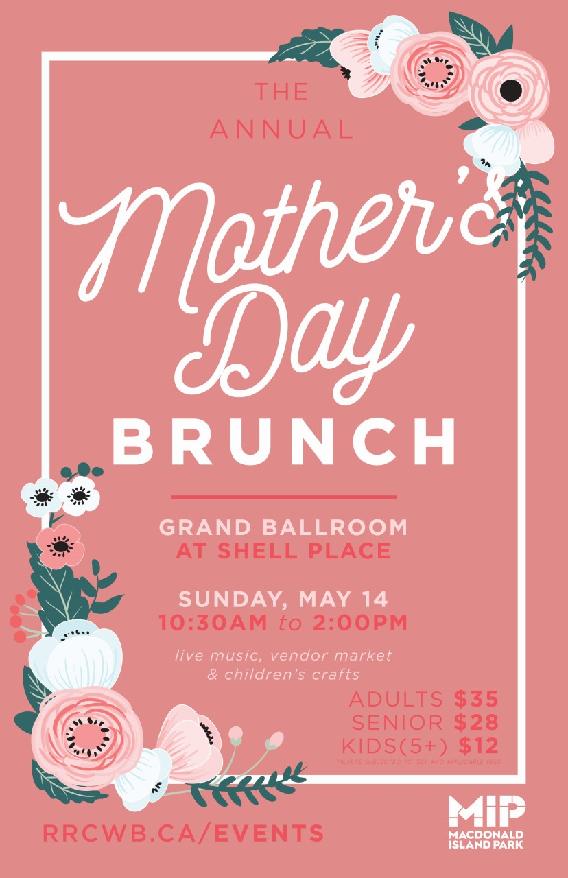 Celebrate Moms With Annual Mother's Day Brunch