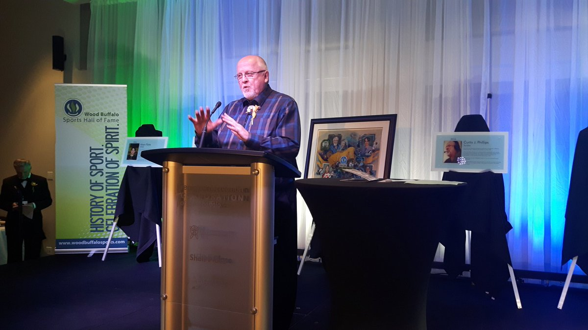 """I do It for the Love of Sports,"" Wood Buffalo Sports Hall of Fame Inducts New Members"