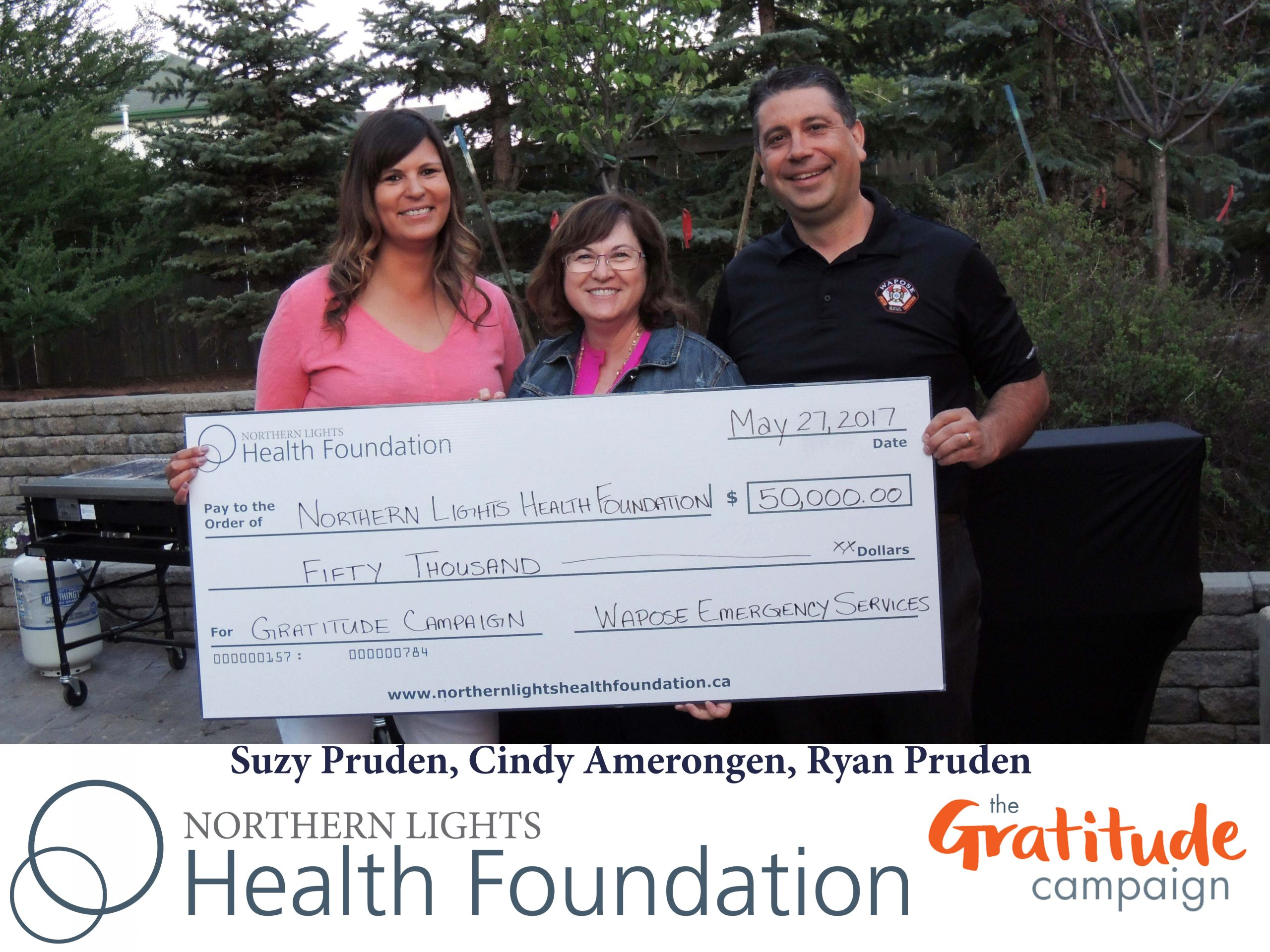 NLHF Receives $50,000 For Surgical Suites Project