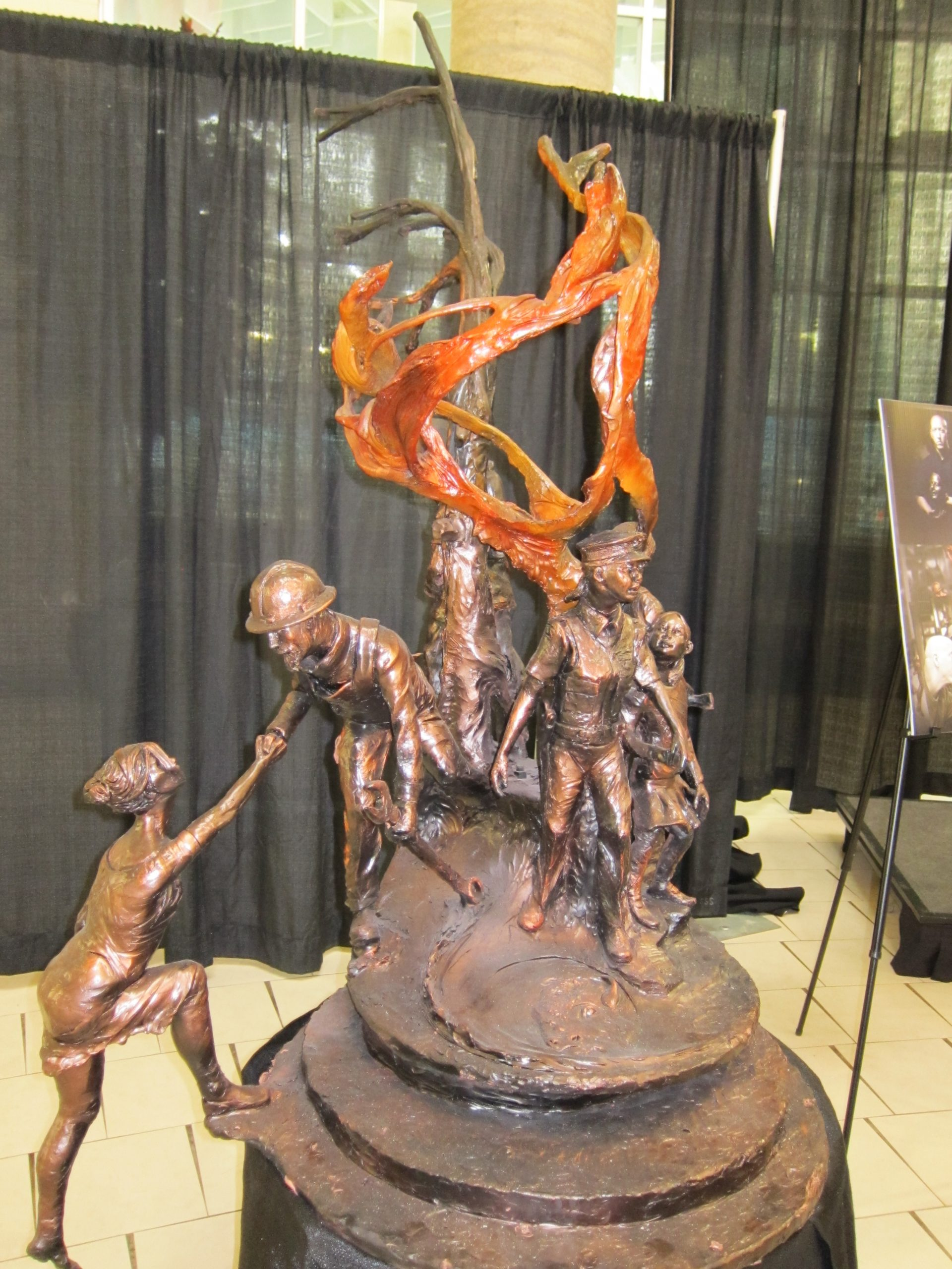 Proposed Sculpture To Honour Heroes Of The Wildfire Unveiled