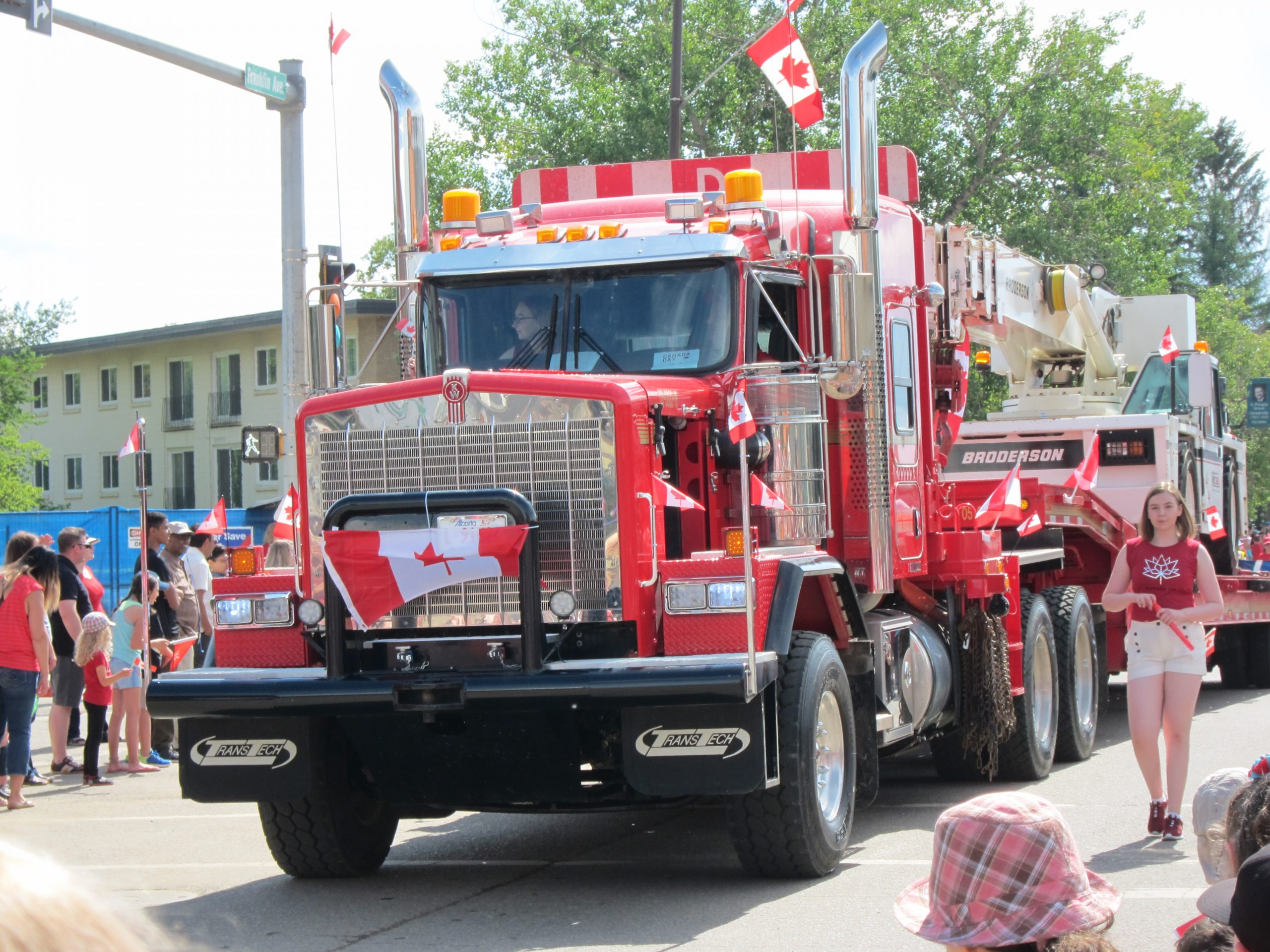 Thousands Take In Canada Day Parade