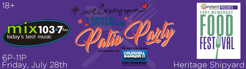 What's Cookin'? Win 2 tickets to We Love YMM Largest Patio Party!