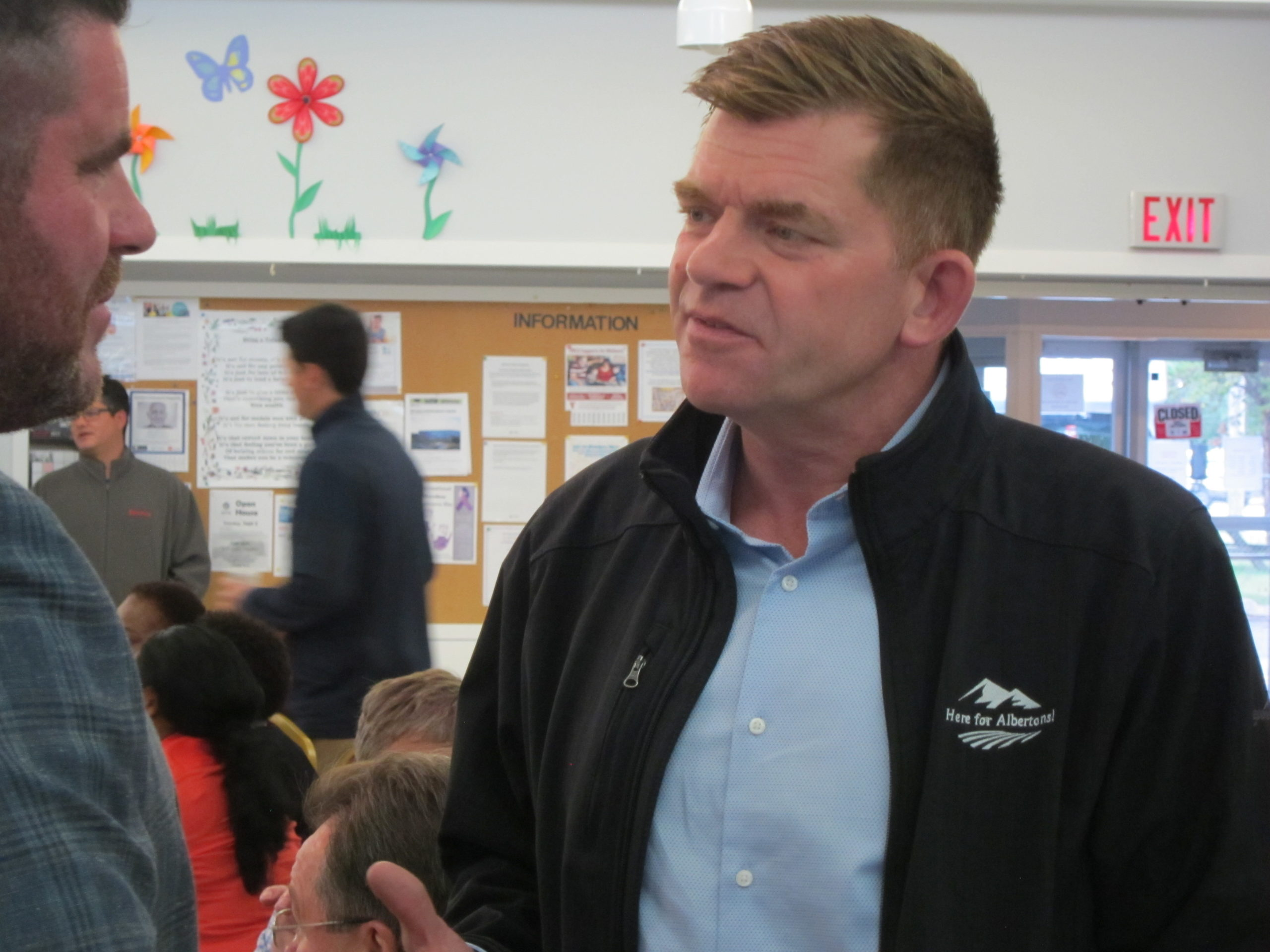 Brian Jean makes First Public Appearance in Fort McMurray Since Start of UCP Leadership Campaign