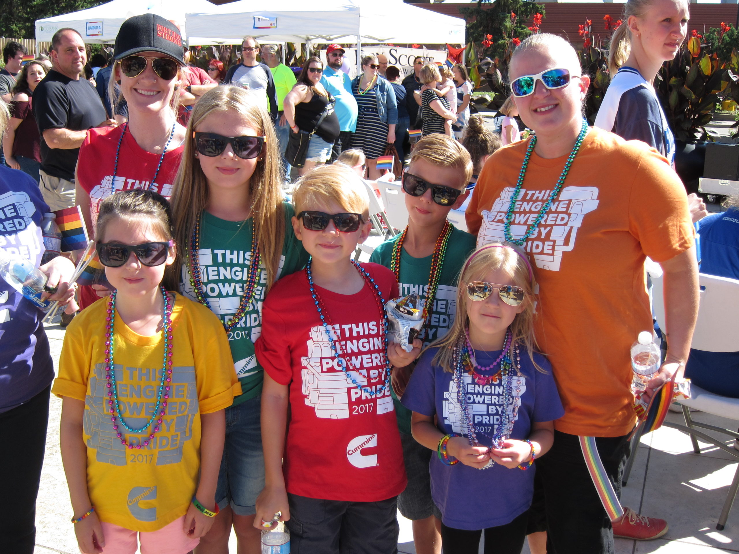 Pride YMM Community Gathering Draws Big Crowd of Supporters
