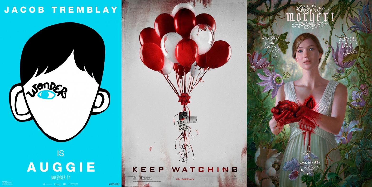 Trailer-Watchin' Wednesday: Keep Watching, Mother!, Wonder