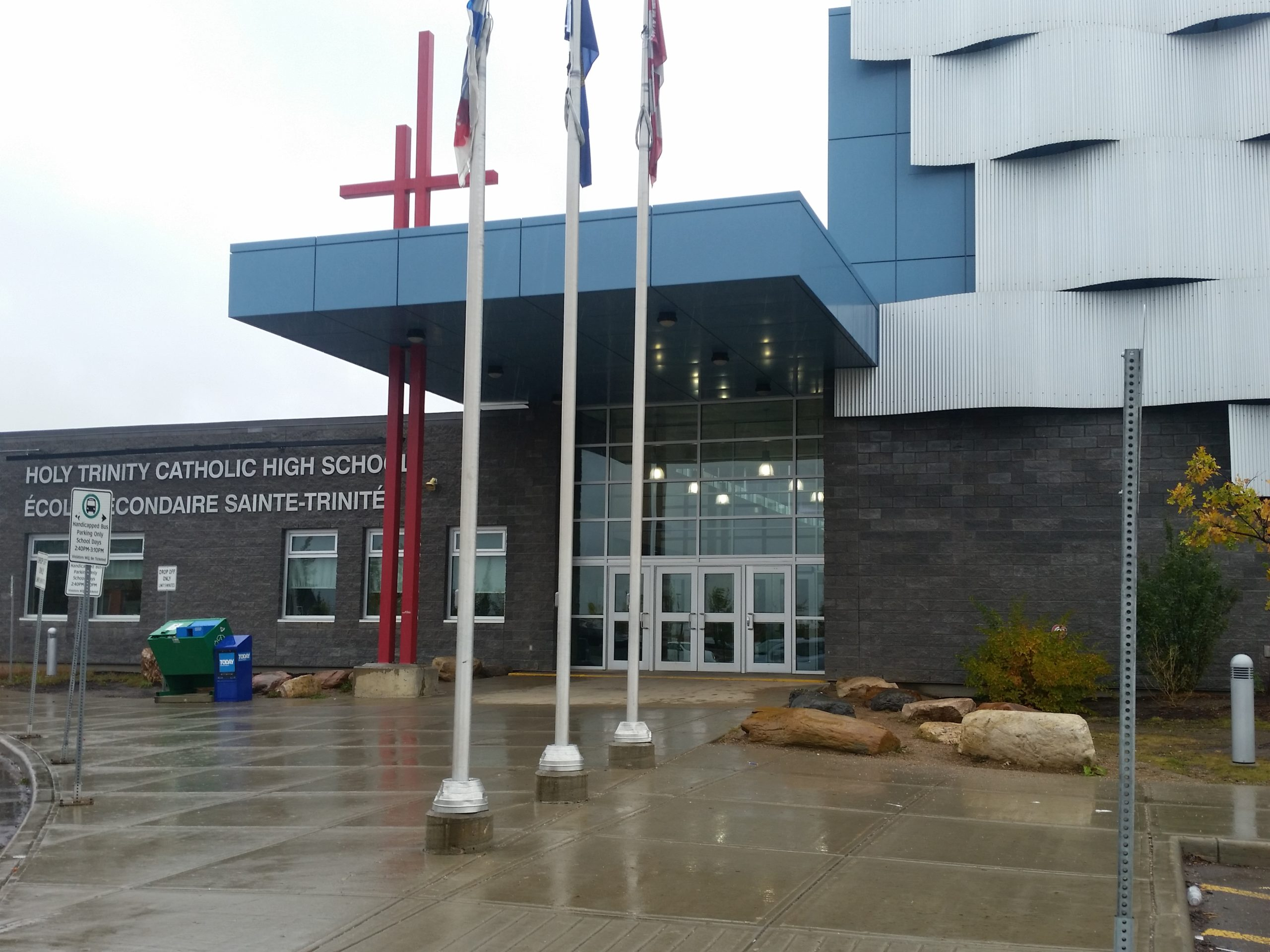 Staff And Students Unharmed After Bear Spray Released Inside Holy Trinity Catholic High School