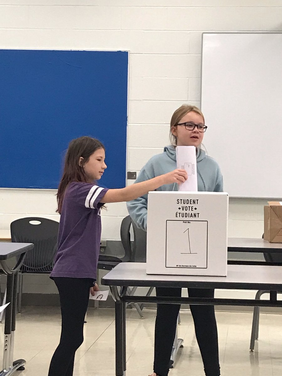 Wood Buffalo Students Vote Scott For Mayor In Mock Election