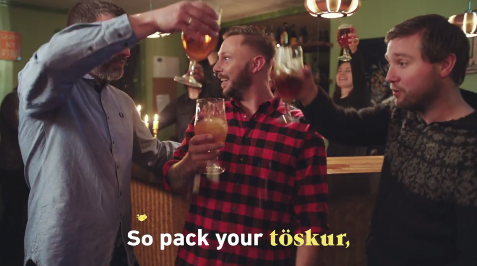 Hardest Karaoke Song in the World? Probably not if you're from Iceland.