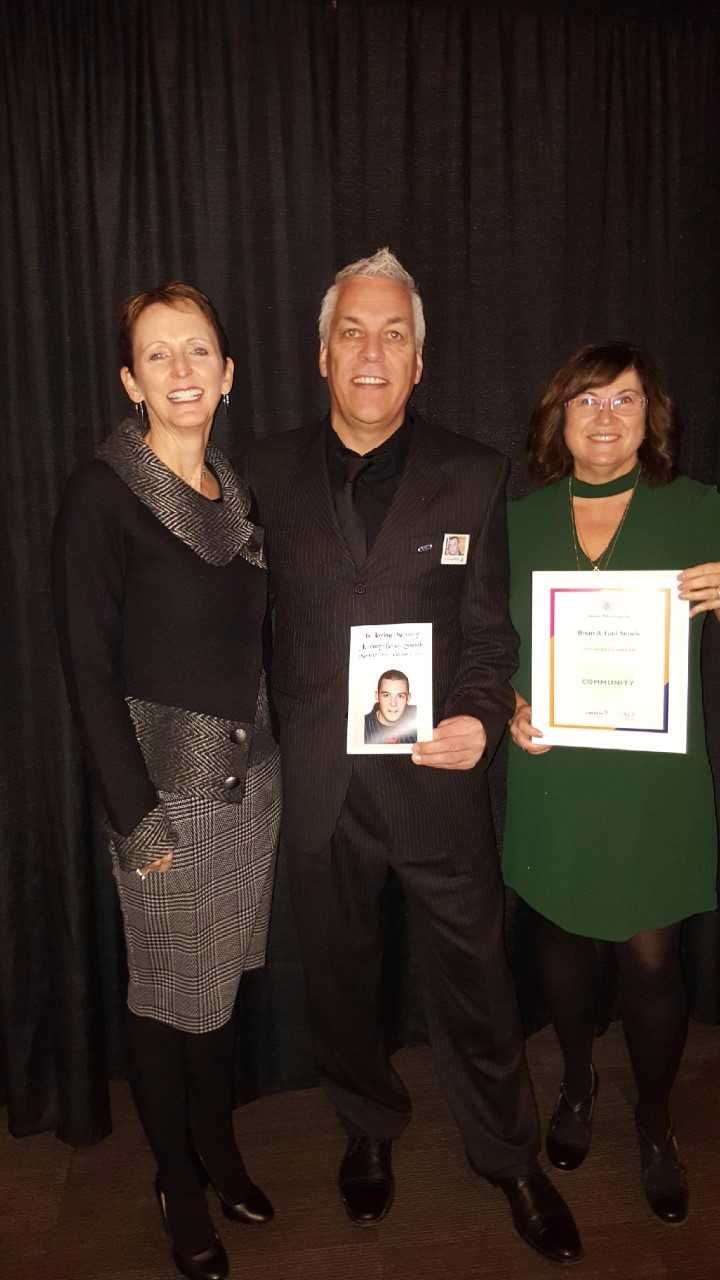 Brian and Gail Snook Receive 2017 National Philanthropy Day Award