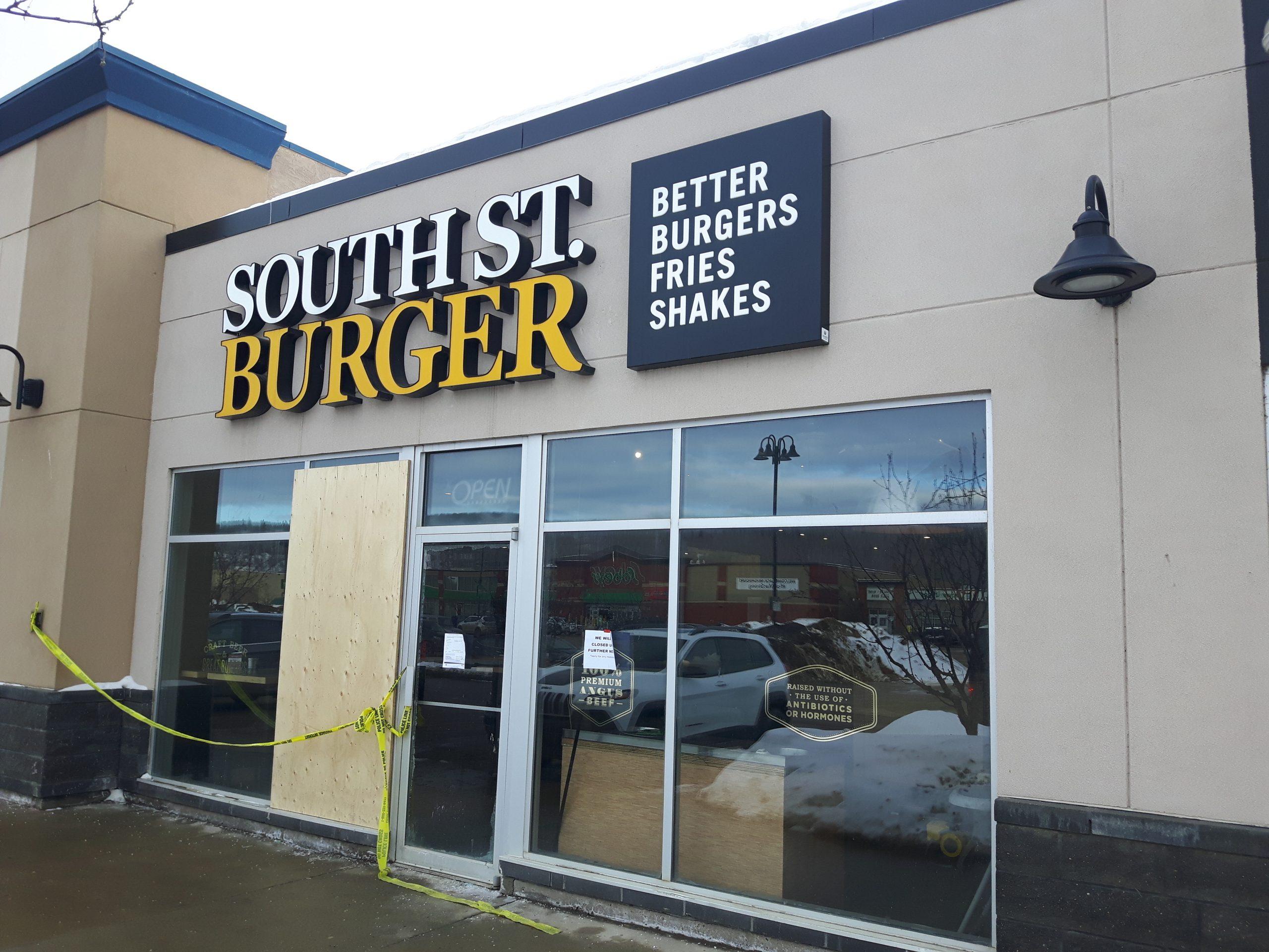 Wood Buffalo RCMP Investigate Arson At South Street Burger
