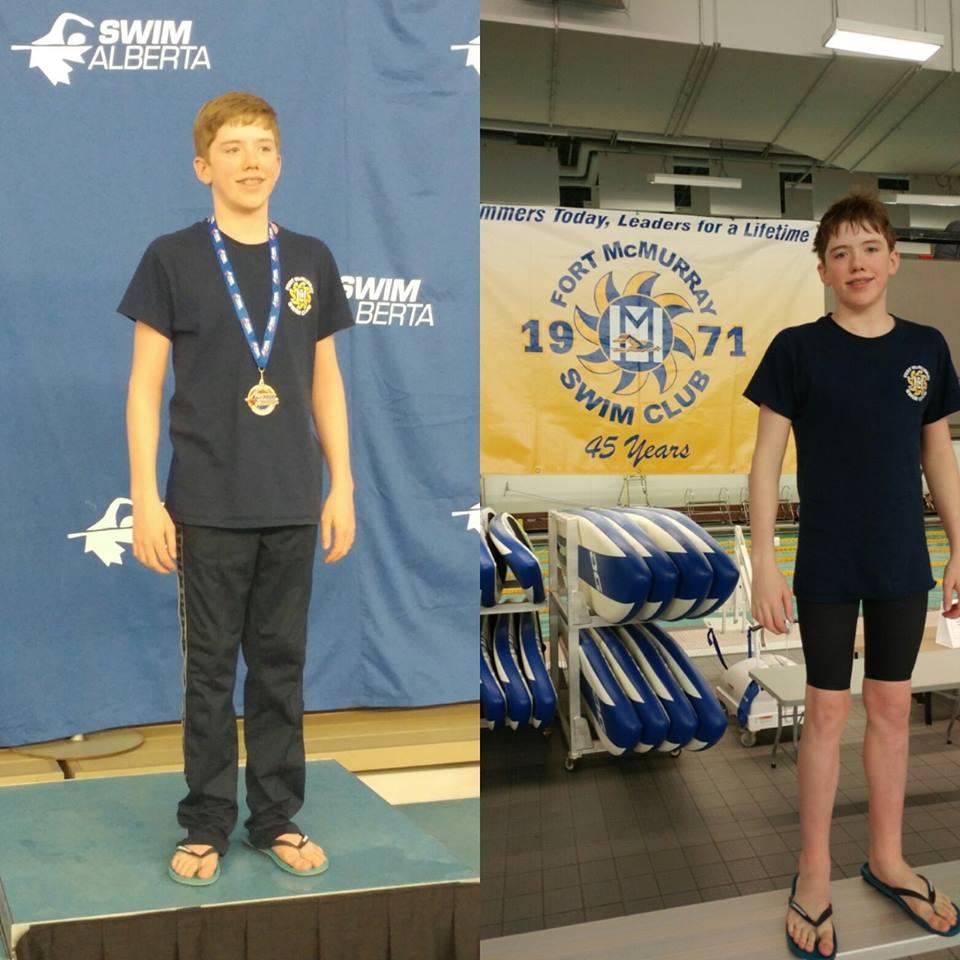 Mantas Swim Hard For Fort McMurray At Provincial Spring Championship