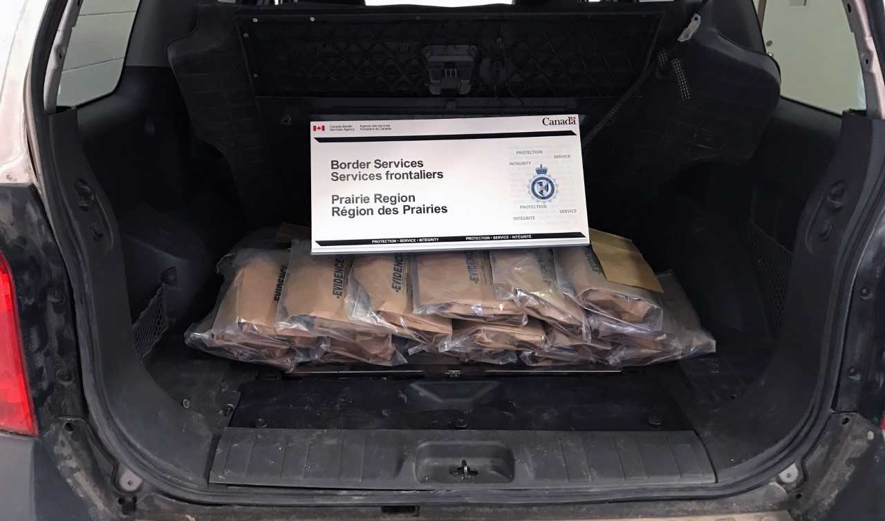 Fort McMurray Man Granted Bail After Record Drug Bust At Border