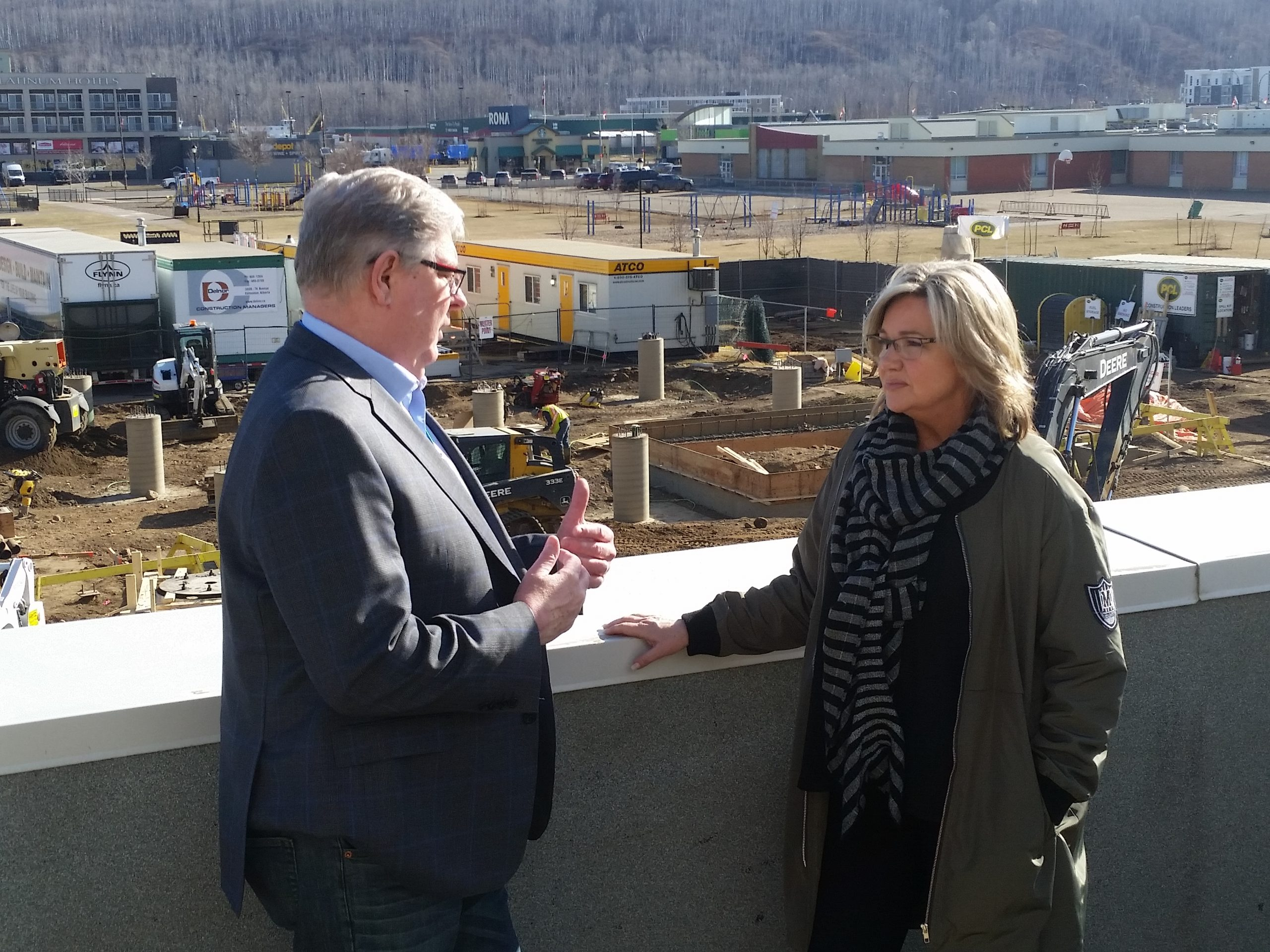 Construction On Schedule for NLRHC's Helipad