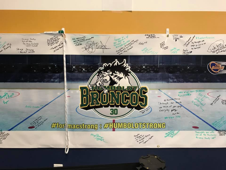 New Foundation To Accept Humboldt Broncos Donations Once GoFundMe Closes