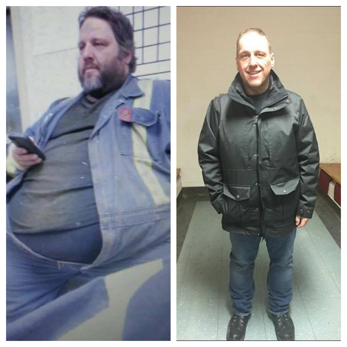 Fort McMurray Man Credits Wildfire For 'Saving His Life' After Losing 326 Pounds