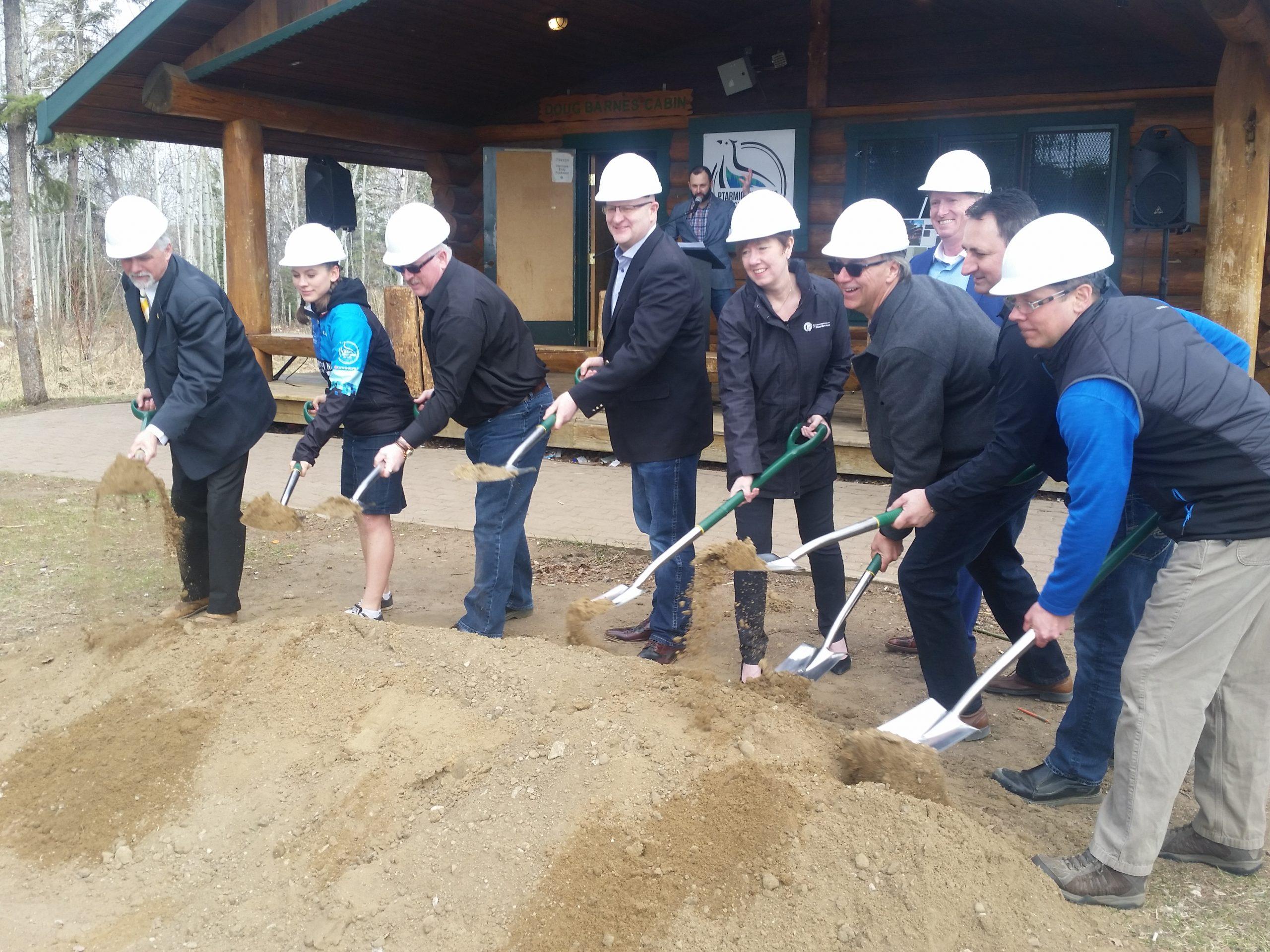 Doug Barnes Cabin Expansion Underway