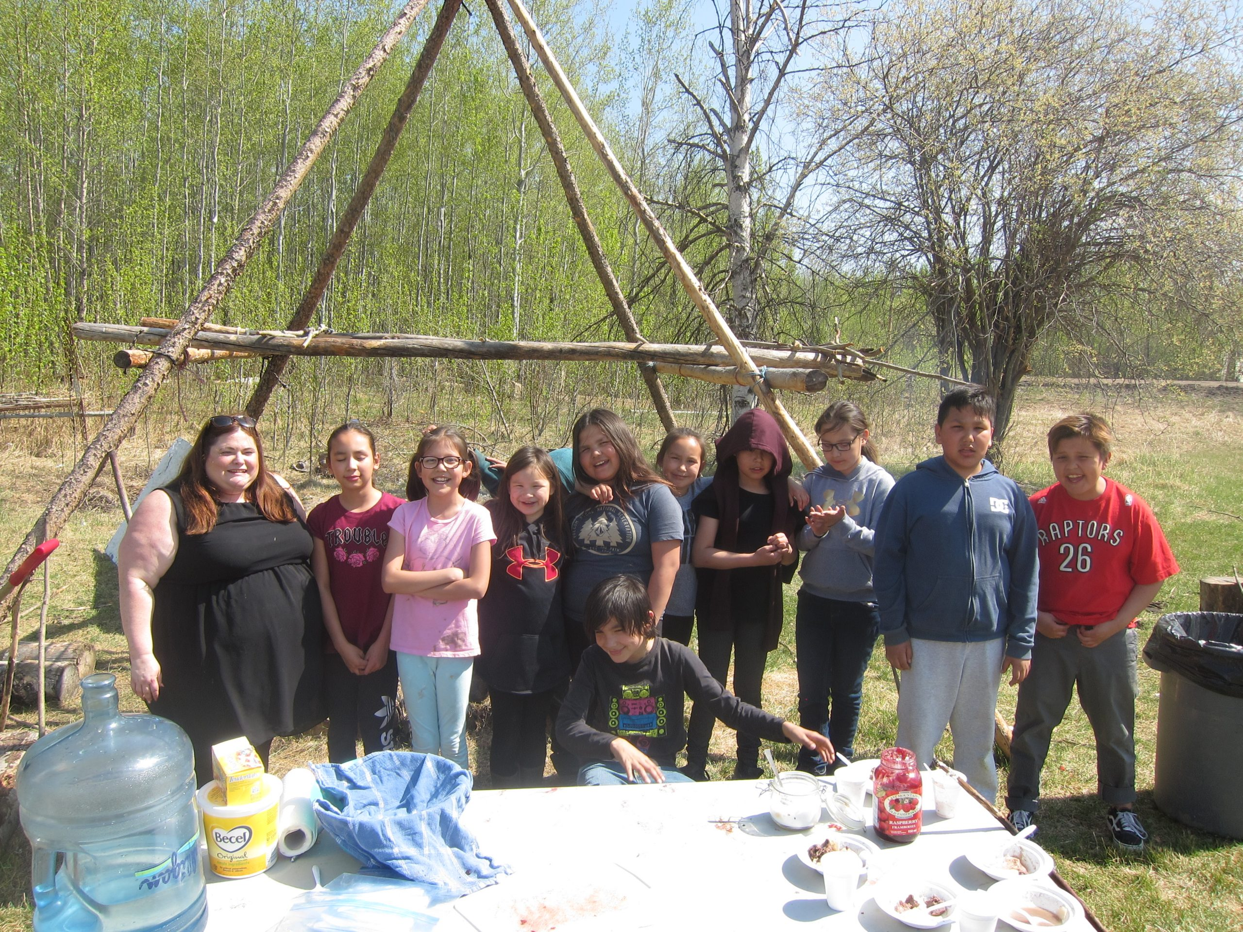 Program Aims To Teach Janvier Students Traditional Indigenous Skills