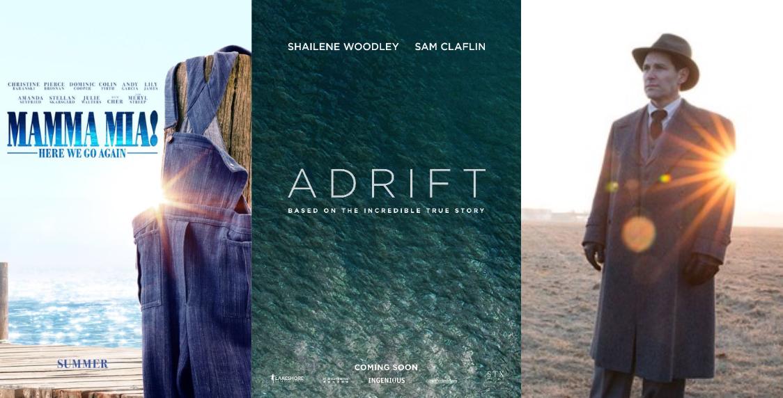Trailer-Watchin' Wednesday - Adrift, The Catcher Was a Spy, Mamma Mia: Here We Go Again