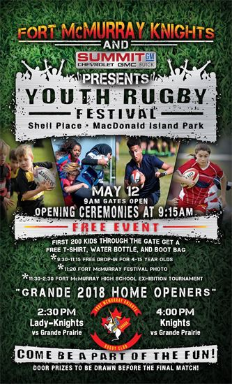 Rugby Knights Prepare For Home Opener And Rugby Festival