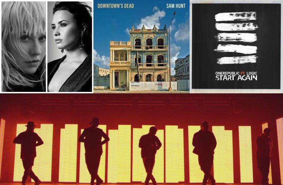 New Music x4 AGAIN - Xtina + Demi, Sam Hunt, One Republic + Logic, and the BACKSTREET BOYS